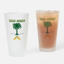 Saudi Arabia Coat of arms Drinking Glass