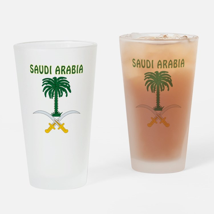 Saudi Arabia Coat of arms Drinking Glass