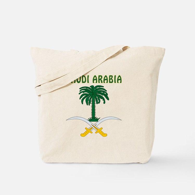 Saudi Arabia Coat of arms Tote Bag