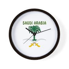 Saudi Arabia Coat of arms Wall Clock