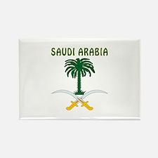 Saudi Arabia Coat of arms Rectangle Magnet