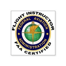 Flight Instructor Sticker