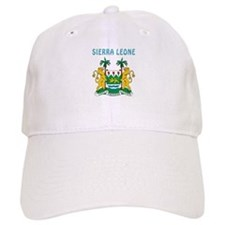 Sierra Leone Coat of arms Baseball Cap