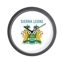 Sierra Leone Coat of arms Wall Clock