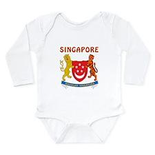 Singapore Coat of arms Onesie Romper Suit