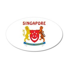 Singapore Coat of arms Wall Decal
