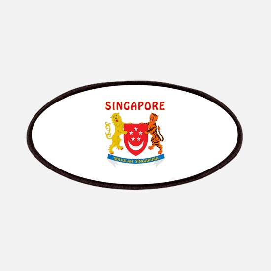 Singapore Coat of arms Patches
