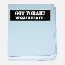 GOT TORAH? baby blanket