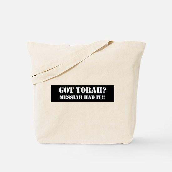 GOT TORAH? Tote Bag