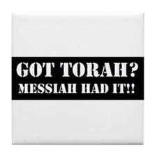 GOT TORAH? Tile Coaster