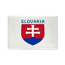 Slovakia Coat of arms Rectangle Magnet