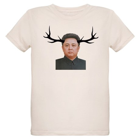 The Deer Leader Organic Kids T-Shirt