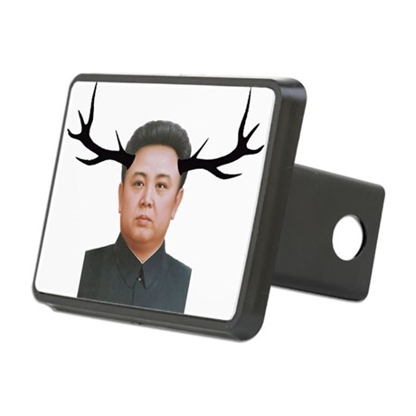 The Deer Leader Rectangular Hitch Cover