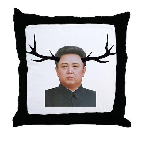 The Deer Leader Throw Pillow
