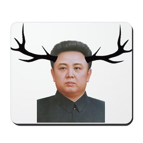 The Deer Leader Mousepad