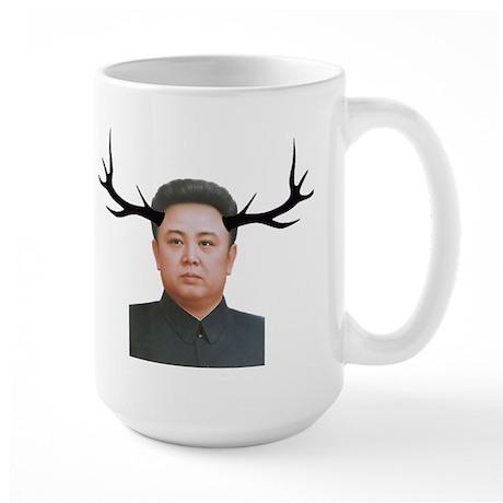 The Deer Leader Large Mug