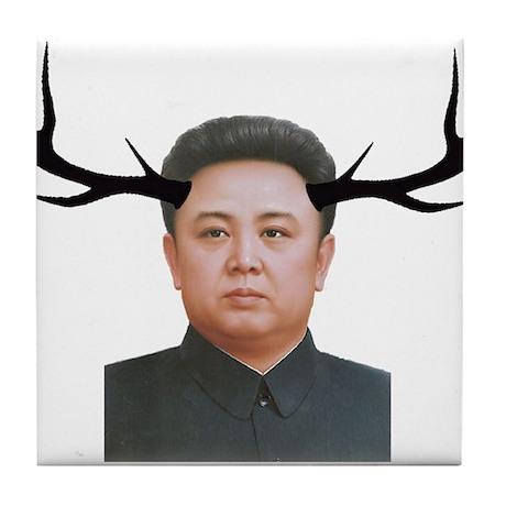 The Deer Leader Tile Coaster