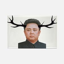 The Deer Leader Rectangle Magnet