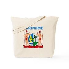 Suriname Coat of arms Tote Bag