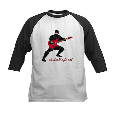 Guitar Ninja Baseball Jersey