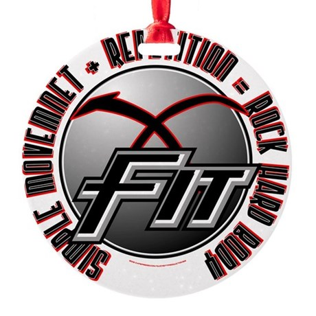 X-Fit 2 Round Ornament
