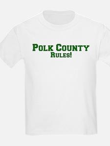 Polk County Rules! Kids T-Shirt