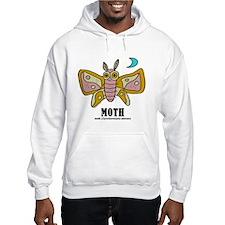 Cute Moth Hoodie