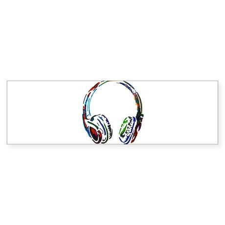 Adams Headphones Sticker (Bumper)