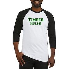 Timber Rules! Baseball Jersey