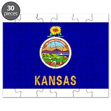 Flag of Kansas Puzzle