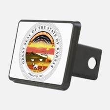Great Seal of Kansas Hitch Cover