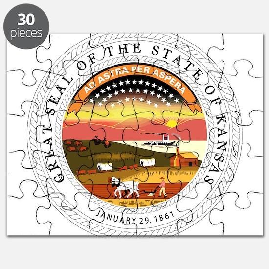 Great Seal of Kansas Puzzle