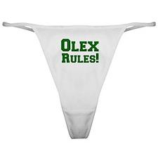 Olex Rules! Classic Thong