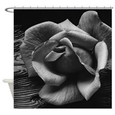 Ansel Adams Rose And Driftwood Shower Curtain
