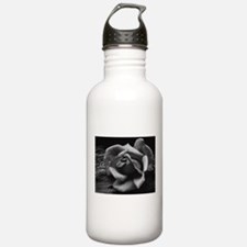 Ansel Adams Rose And Driftwood Water Bottle