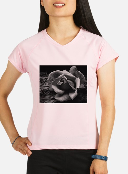Ansel Adams Rose And Driftwood Performance Dry T-S
