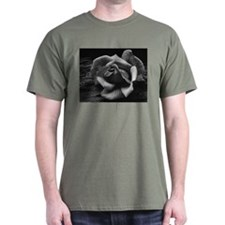 Ansel Adams Rose And Driftwood T-Shirt