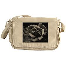 Ansel Adams Rose And Driftwood Messenger Bag