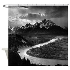 Ansel Adams The Tetons and the Snake River Shower