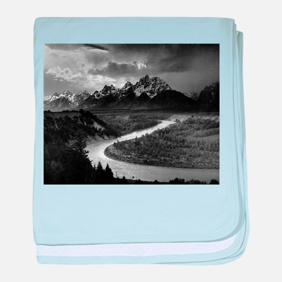 Ansel Adams The Tetons and the Snake River baby bl
