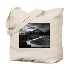Ansel Adams The Tetons and the Snake River Tote Ba