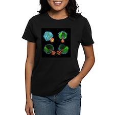 Bacteriophage P22, computer model - Tee