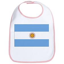 flag of Argentina Bib