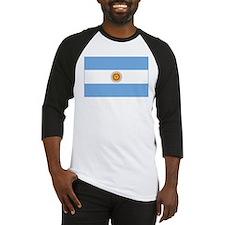 flag of Argentina Baseball Jersey
