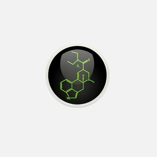 LSD molecule button Mini Button (100 pack)