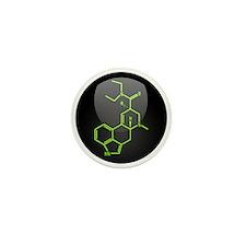 LSD molecule button Mini Button (10 pack)