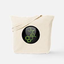 LSD molecule button Tote Bag