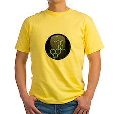 LSD molecule button T
