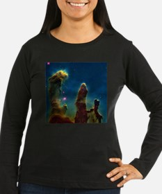 Gas pillars in the Eagle Nebula - T-Shirt