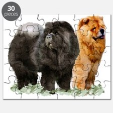 red and black chows Puzzle